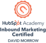 HubSpot Inbound Marketing Certified - David Morrow
